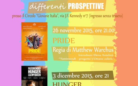 "CINEFORUM STUDENTESCO D'AUTUNNO – ""differenti Prospettive"""